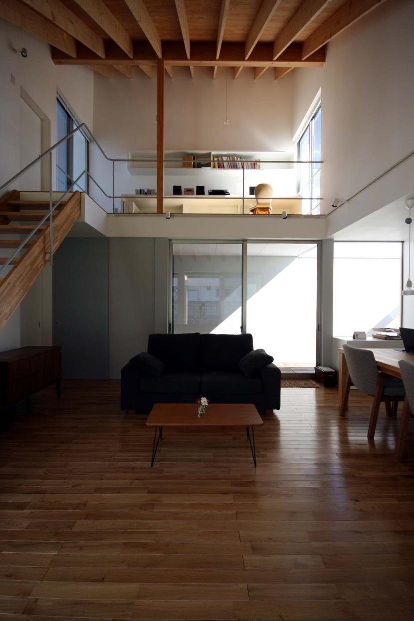 東松山のいえの部屋 リビング1