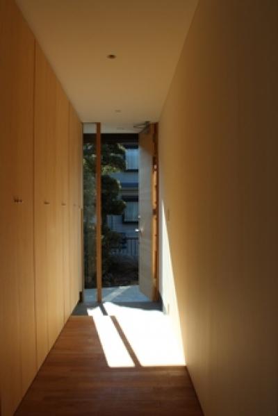 金沢文庫の家 (玄関)