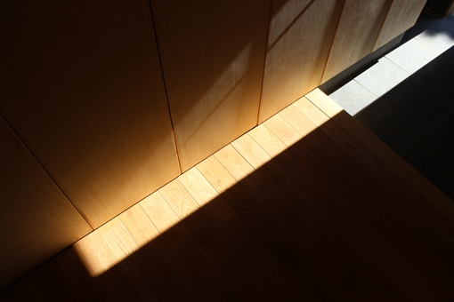 金沢文庫の家の部屋 玄関