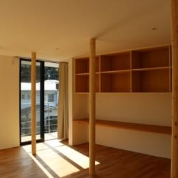 金沢文庫の家 (二階リビング)
