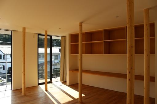 金沢文庫の家の写真 二階リビング