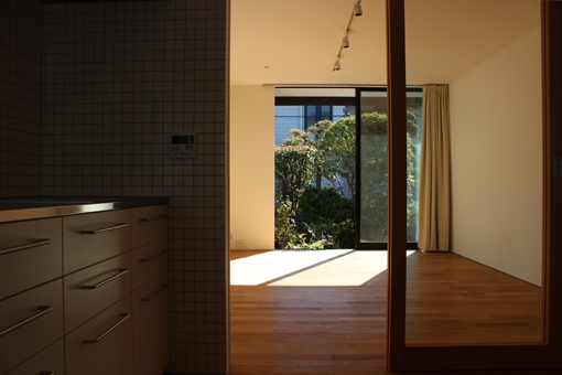 金沢文庫の家の写真 一階リビング