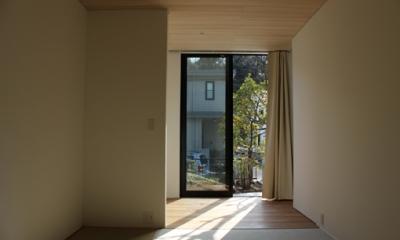 金沢文庫の家 (和室)