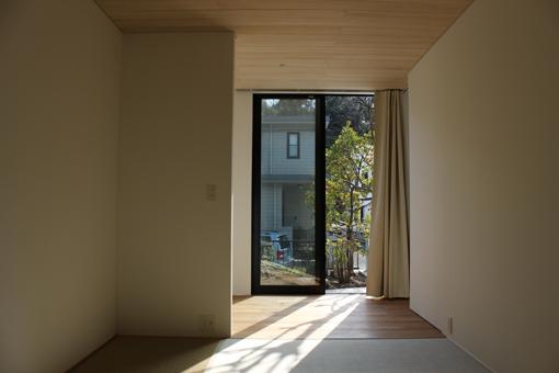 金沢文庫の家の部屋 和室