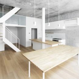 House D (木とコンクリートの空間)