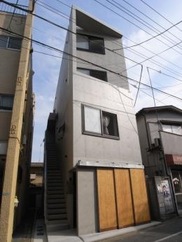 石神井台レジデンス (北側外観)