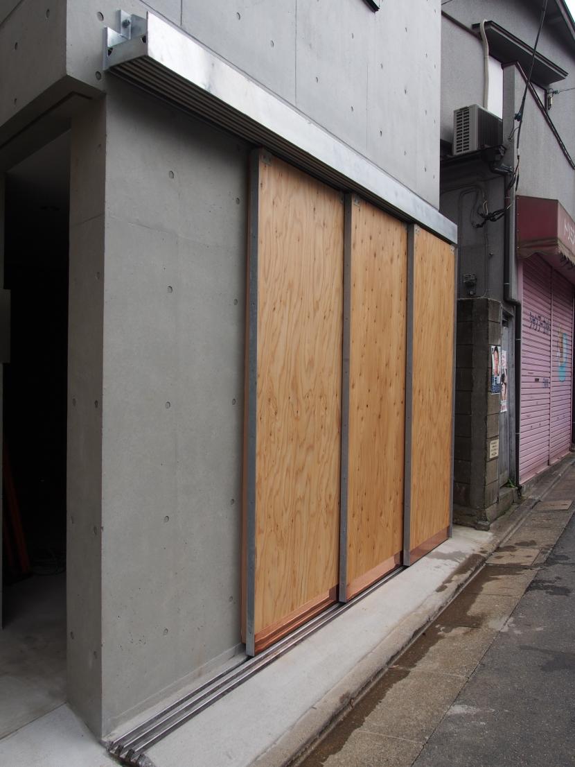 石神井台レジデンスの写真 ガレージの扉