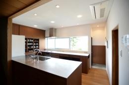 F邸 キッチン改修 | HOUSE F Renovation I (キッチンスペース)