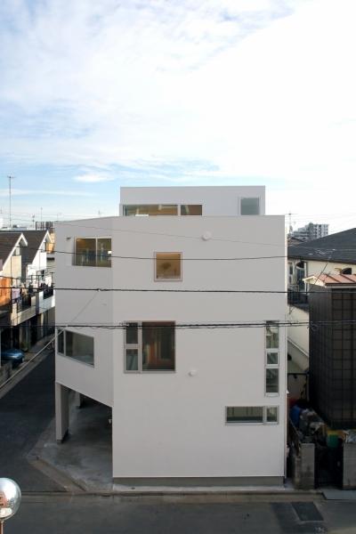 平和台の家 (外観)