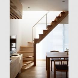 境南町の家 (階段)