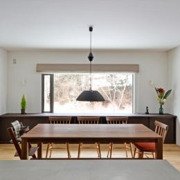 軽井沢の家 (ダイニング)