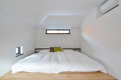 軽井沢の家 (寝室)