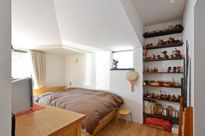 寝室 (軽井沢の家)