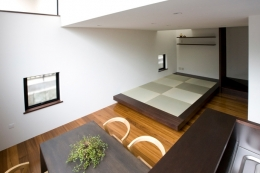 宮崎台の家 (リビングダイニングキッチン)