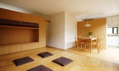 八王子緑町の家 (リビングダイニングキッチン)