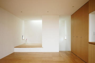 オープンスペース (八王子緑町の家)