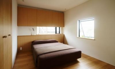 八王子緑町の家 (寝室)