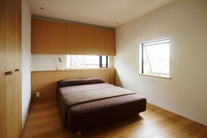 八王子緑町の家の部屋 寝室