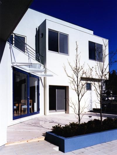 横浜の家 (南側の外観)