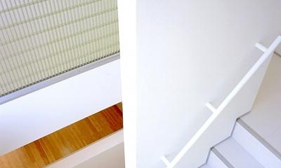 画家と母の家 (階段室)
