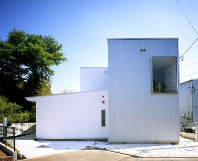 画家と母の家 (画家と母の家・北側外観)