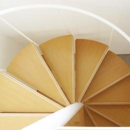 螺旋階段の家 (螺旋階段のディティール)