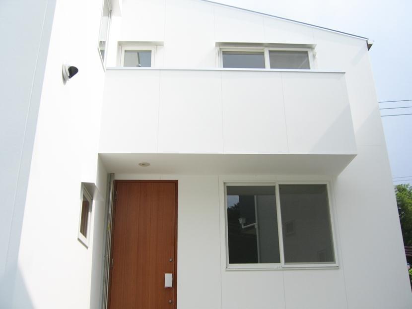 螺旋階段の家の部屋 螺旋階段のある家・外観