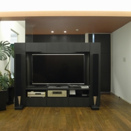 Y邸改装 (テレビボード)