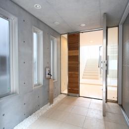 世田谷の家 (玄関ドア)