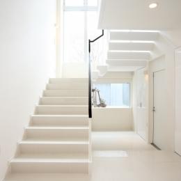 世田谷の家 (階段)
