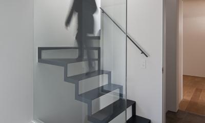 筒のいえ (階段1)