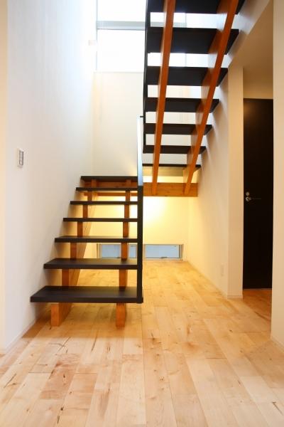相模原の家 (スケルトン階段)