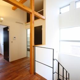 相模原の家 (2階階段ホール)