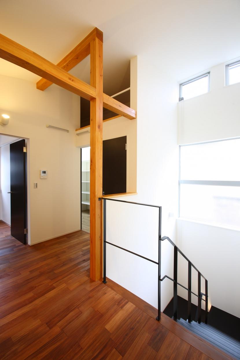 相模原の家の部屋 2階階段ホール