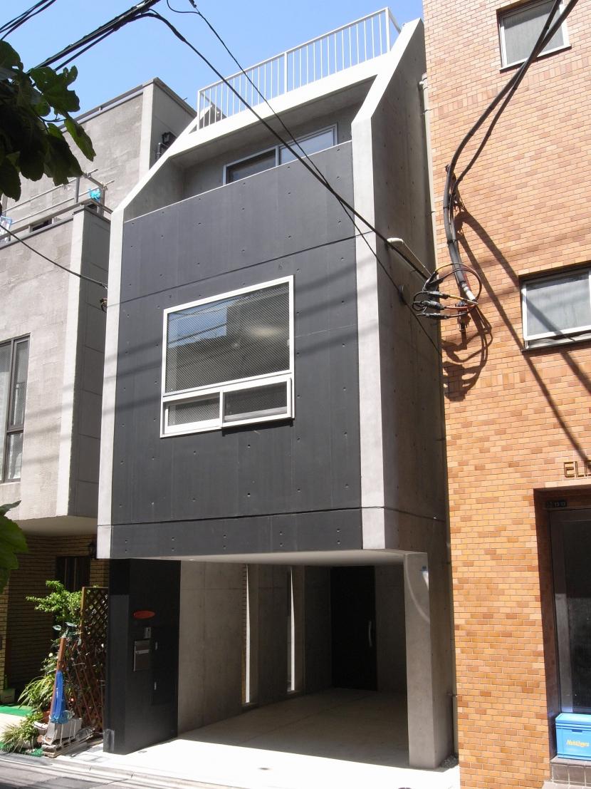 三田H邸の部屋 外観