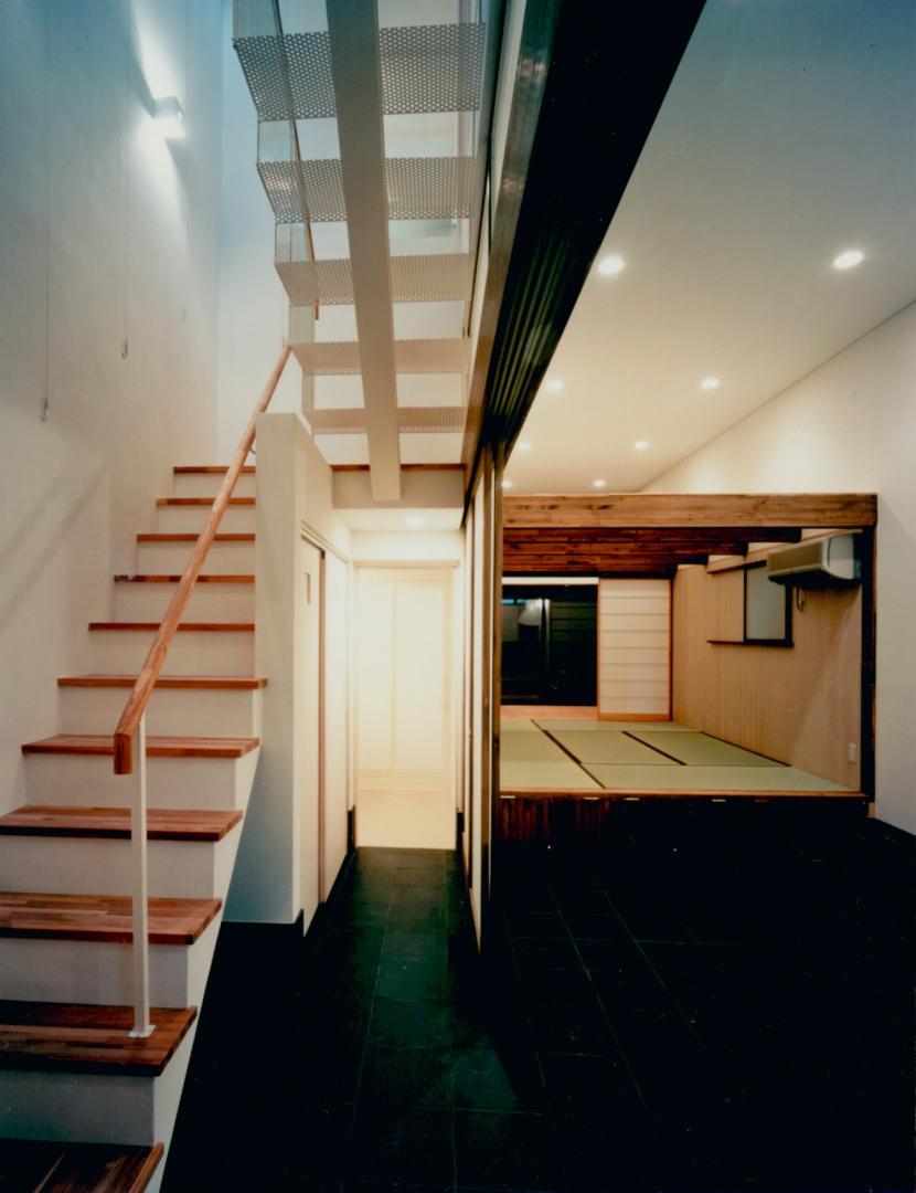 T Houseの部屋 土間
