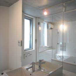 三田H邸 (洗面浴室)