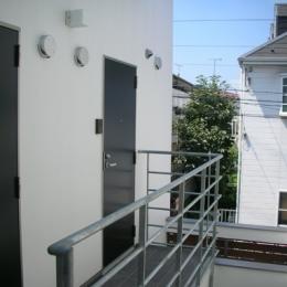 方南1丁目プロジェクト (2階共用廊下)