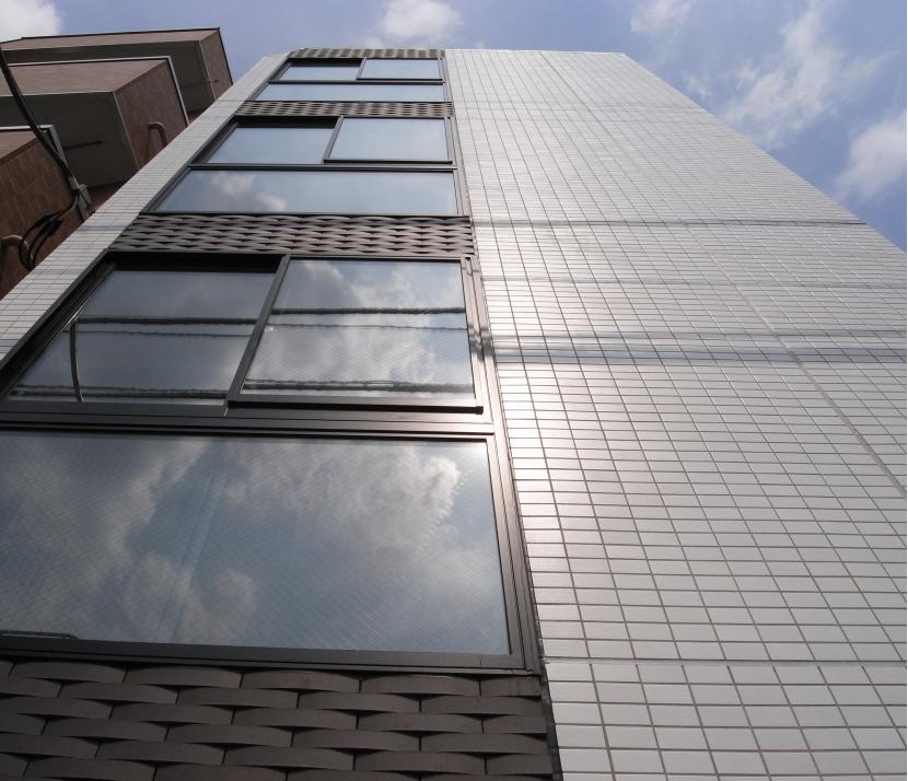 代田橋プロジェクトの部屋 外観見上げ