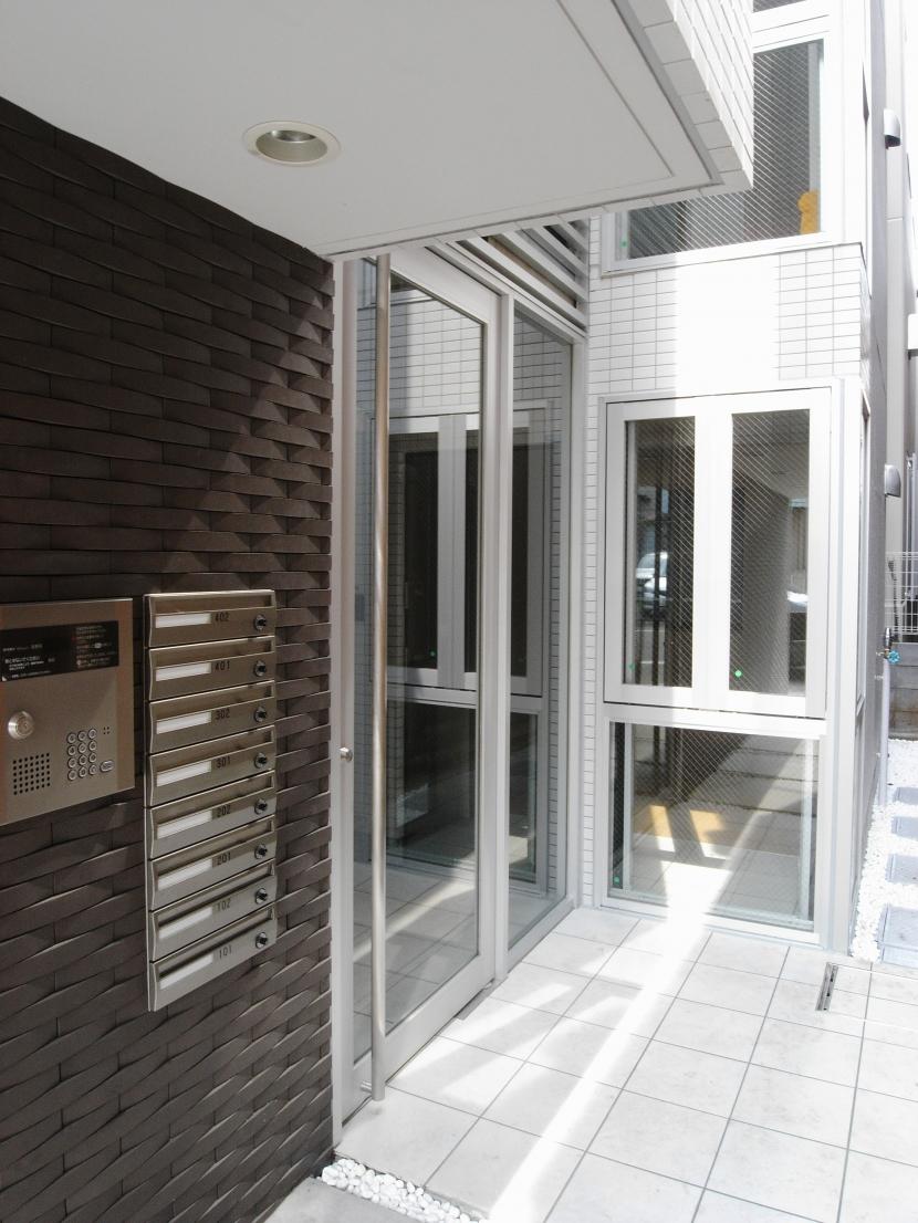 代田橋プロジェクトの部屋 エントランスアプローチ