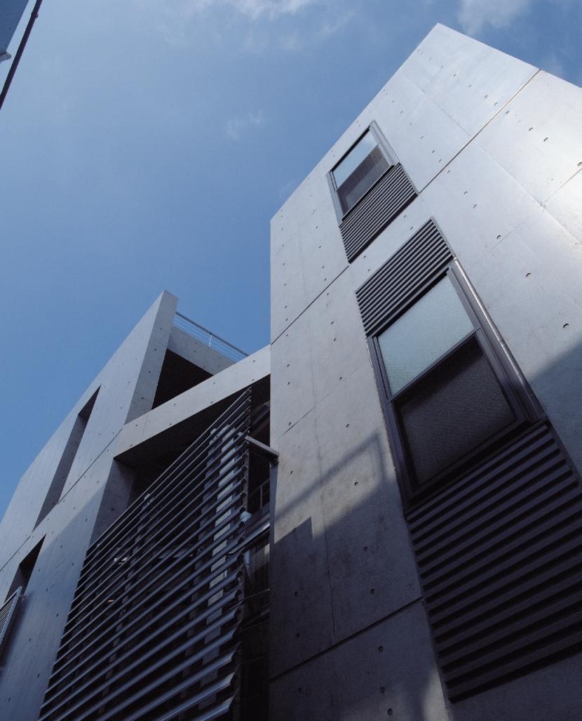 上馬住宅 (A棟外観)