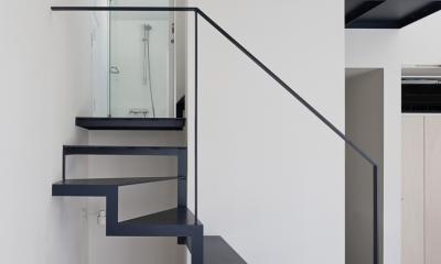 筒のいえ (階段2)