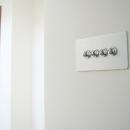 螺旋階段の家の写真 トグルスイッチ