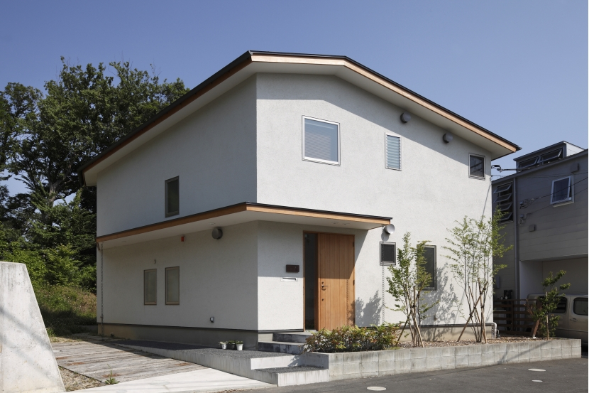 緑陰とピアノの家 (外観)