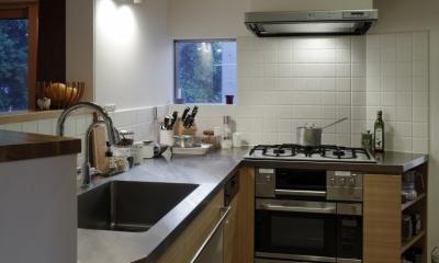 緑陰とピアノの家 (キッチン)