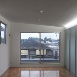 上祖師谷の家 (上祖師谷の家|リビングダイニング1)