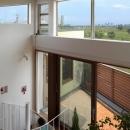 眺めの良いルーフテラスの家