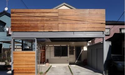 建て売り住宅のリノベーション (外観)