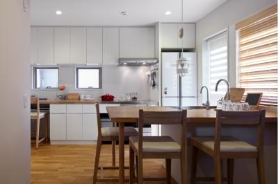 キッチン (建て売り住宅のリノベーション)