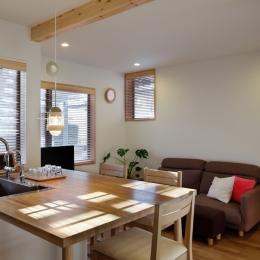 リビング (建て売り住宅のリノベーション)